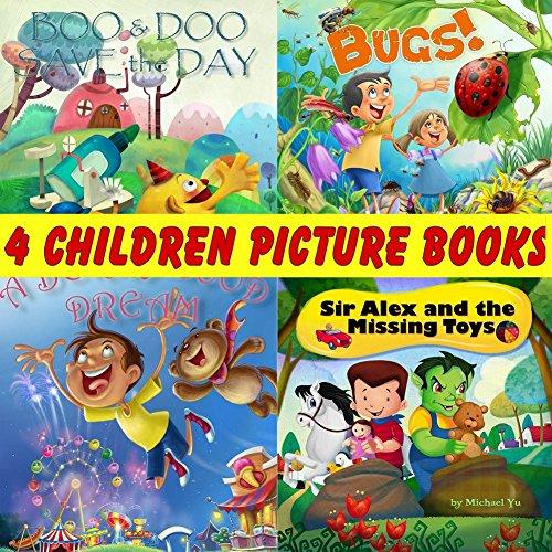 Children Picture Books Collection (4 Books Set)