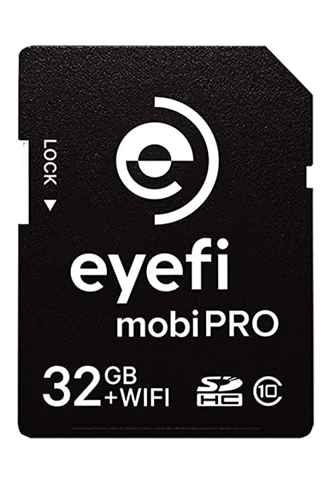 59 opinioni per Eyefi Mobi Pro 32GB WiFi SDHC CARD Classe 10 Trasferimento Diretto Wi-Fi