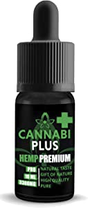 Cannabi Plus Hemp Oil for Pain Relief 3300mg | Great for Stress and Pain Relief, Mood Support, Healthy Sleep Patterns | Our Highest Strength | Made in The Netherlands