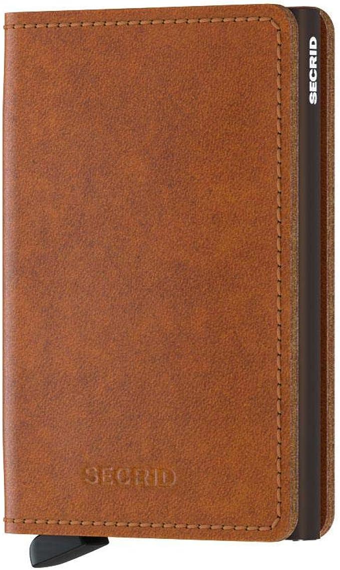 Amazon.com: Secrid Hombres Slim Wallet funda de piel Vintage ...