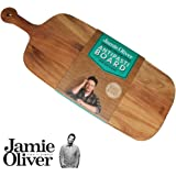Jamie Oliver - Rustic - Antipastibrett, Schneidebrett, Holzbrett - 52 x 20 x 1,5 cm - Akazienholz