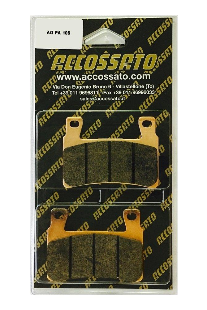 CBR 600/RR 2003//–/2004 accossato Pastillas f agpa105st 600/
