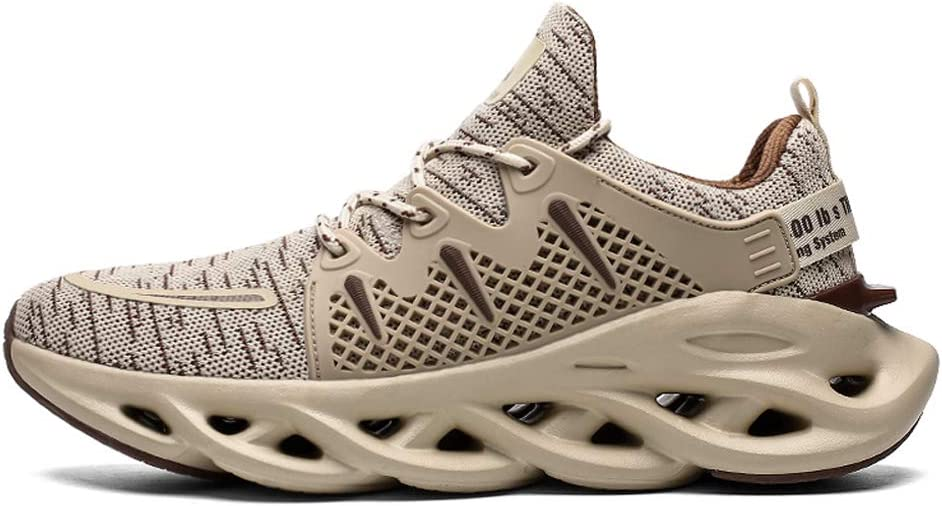 Dannto Mens SN-2068 Running Shoes B/khaki