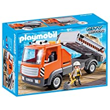 Playmobil City Action - Construction Truck by Playmobil City Action