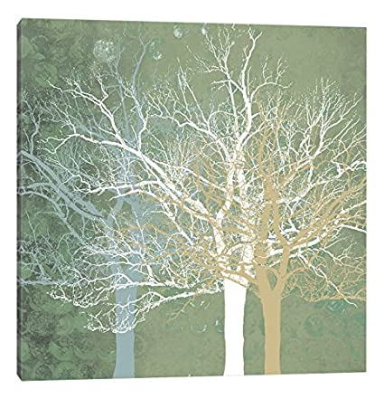 iCanvasART Quiet Forest Canvas Print by Erin Clark 37 x 37
