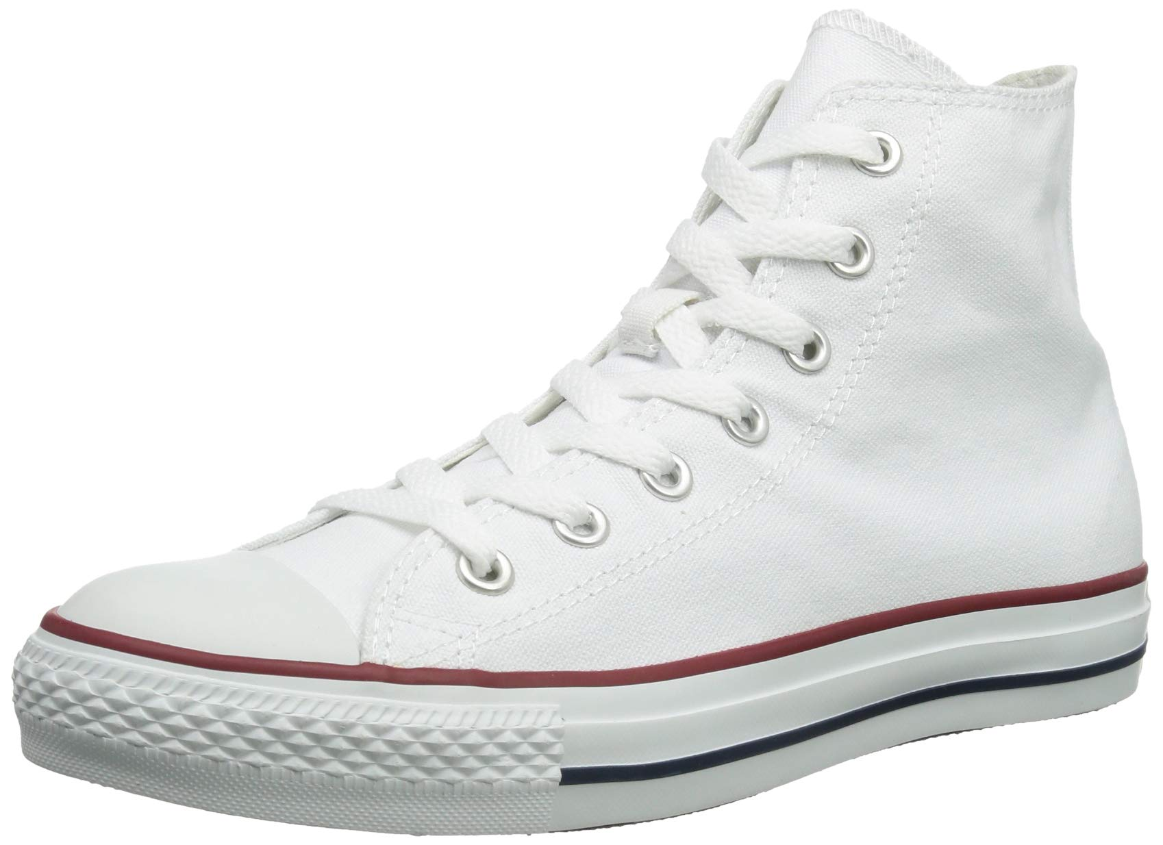 Chuck Taylor All Star Canvas High Top, Optical White, 3 M US