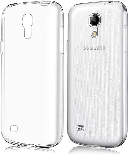 kwmobile Funda Compatible con Samsung Galaxy S4 Mini - Carcasa de TPU para móvil - Cover Trasero en Transparente: Amazon.es: Electrónica