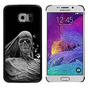 iKiki Tech / Estuche rígido - Deep Meaning Sculpture Scull Metal - Samsung Galaxy S6 EDGE SM-G925