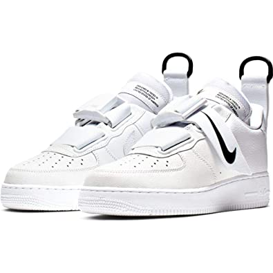 b95af60c4 Image Unavailable. Image not available for. Color: Nike Air Force 1 Utility  White/Black