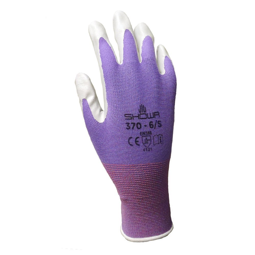 6 Pack Showa Atlas NT370 Atlas Nitrile Garden Gloves - Medium (Assorted Colors) by Showa (Image #5)
