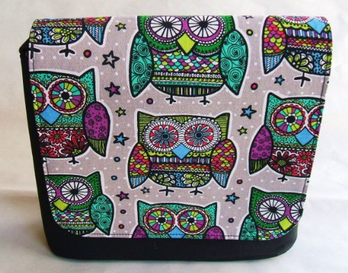 Paradise Owl Messenger Bag by Gifts and Beads