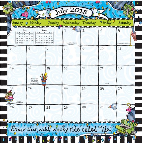 Blue Mountain Arts 2015 Wall Calendar When You Stumble Make It Part of the Dance by Suzy