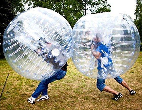 PVC Transaprent Stoßstange Ball Stoßfänger Bubble Fußball Zorb Ball , 1.2m