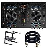 Denon DJ MC4000 2-Ch 2-Deck Serato DJ Controller - New. W/ laptop stand and...