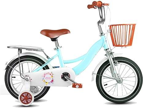 Bicicletas HAIZHEN for niñas, for niños Easy Assembly, Ruedas de Entrenamiento de 12