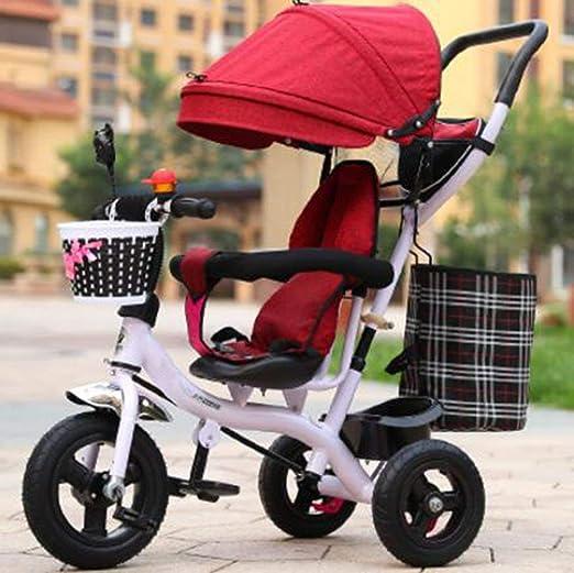 GWM - Carrito de Bicicleta para bebé (Tallas de 1 a 2 a 6 años ...