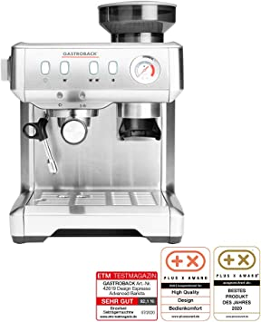 Gastroback 42619 Design Espresso Advanced Barista - Cafetera ...