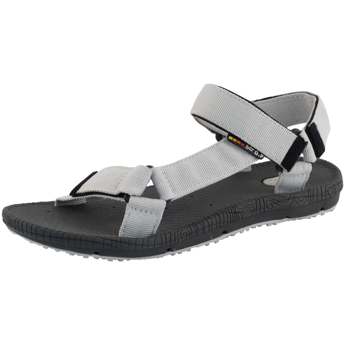 Gold Pigeon Shoes GP5931 Light Weight Adjustable Outdoor Water Sling Back Sandals for Men & Women B01N6SWCUO EU44: Men 11/11.5 (292.4mm)|Grey
