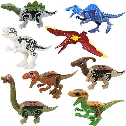 8 Tipos Dinosaurios Building Blocks Juguetes 3d Puzzle Asamblea De Bricolaje Diy Dinosaurios Bloques De Juguete Total 8 Piezas De Dinosaurios Xkl02 8 Amazon Es Coche Y Moto Desde feroces terópodos como el tiranosaurio rex y el spinosaurus hasta enormes saurópodos como el diplodocus y el brachiosaurus. 8 tipos dinosaurios building blocks juguetes 3d puzzle asamblea de bricolaje diy dinosaurios bloques de juguete total 8 piezas de dinosaurios
