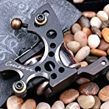 Compass Tattoo Machine Plata Liner Gun Steel Frame Copper Coils for Tattoo Kit 2062-1 (Liner)