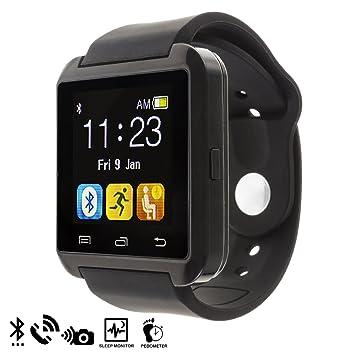 Silica DMQ234BLACK - U80 Bluetooth Watch, Color Negro: Amazon.es: Electrónica