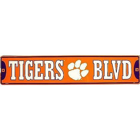 Street Sign Signs 4 Fun Sscct Clemson Tigers BLVD