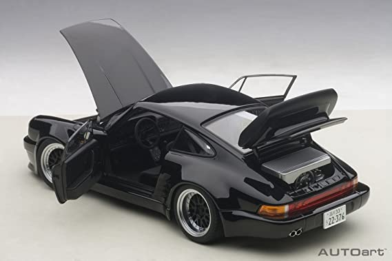 AUTOart 78156 Porsche 911/930 Turbo - Wangan Midnight Blackbird (Escala 1/18, Negro: Amazon.es: Juguetes y juegos