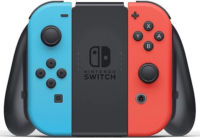 Nintendo Switch 32 GB Consola con Neon Blue & Red Joy-con + Deco Gear Mario Party Bundle: Amazon.es: Electrónica