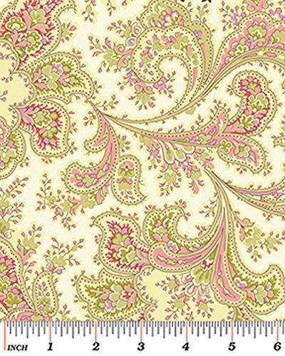 Amazon Benartex Malabar Ivory 108 Wide Quilt Backing Fabric By