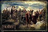 "The Hobbit: An Unexpected Journey - Movie Poster (The Cast) (Size: 36"" x 24"")"