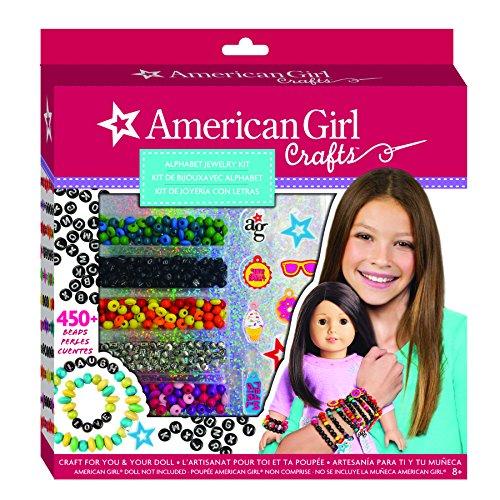 American Girl Alphabet Jewelry Kit American Girl Charm Bracelet
