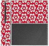 Fun Flowers Pattern Bold Xbox One Console Vinyl Decal Sticker Skin by Debbie's Designs