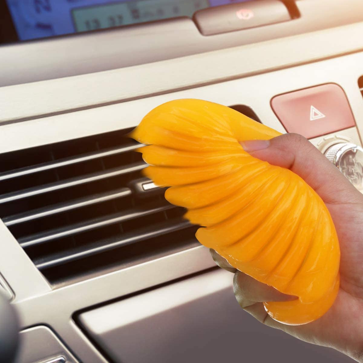car interior cleaning gel