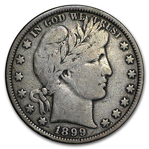 1899 Barber Half Dollar Fine Half Dollar Fine