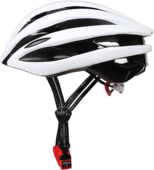 CARACHOME Casco Bicicleta Adulto con con luz Trasera LED,portátil ...