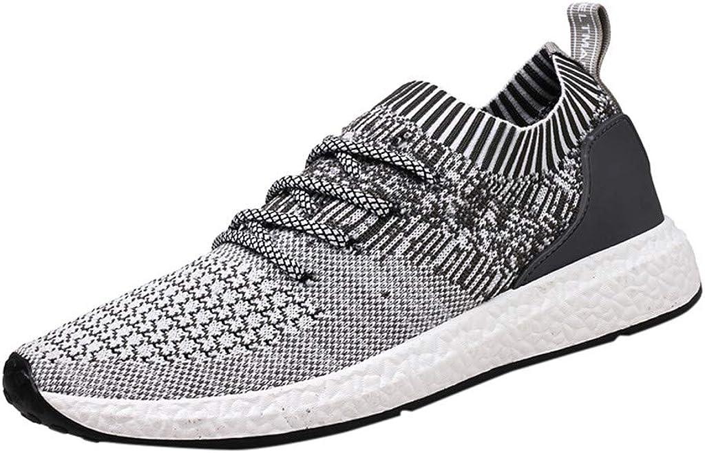 Darringls Zapatos de Senderismo para Hombre Zapatos de High Cut ...