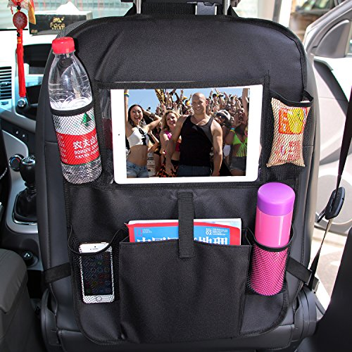 Cheapest Prices! You Gai Car Back Seat Organizer - Touch Screen Pocket for Tablets up to 10.1 - Mul...