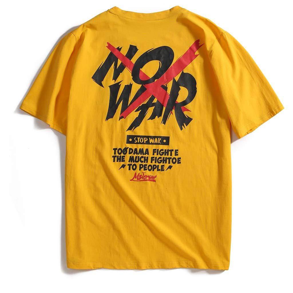 AOGOTO - Camiseta de Manga Corta para Hombre, elástica, de Secado ...