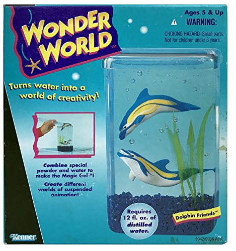 Ocean Wonders Aquarium - Wonder World Dolphin Friends Aquarium Building Playset