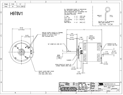 Carrier Electric Motor Hd52ak652 Spl Hp 1140 Rpm 208 230460