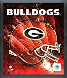 Georgia Bulldogs NCAA Football Helmet Composite Photo (Size: 12'' x 15'')