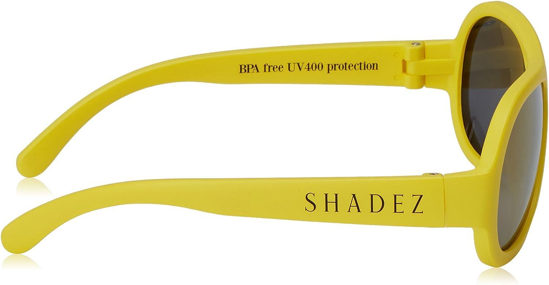 Yellow 0-3 anni Occhiali da sole infanzia unisex Shadez SHZ Baby Giallo