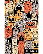 2020-2021: 2-Year Pocket Planner, 24-Month Calendar Jan 2020 to Dec 2021- So Many Dog Design