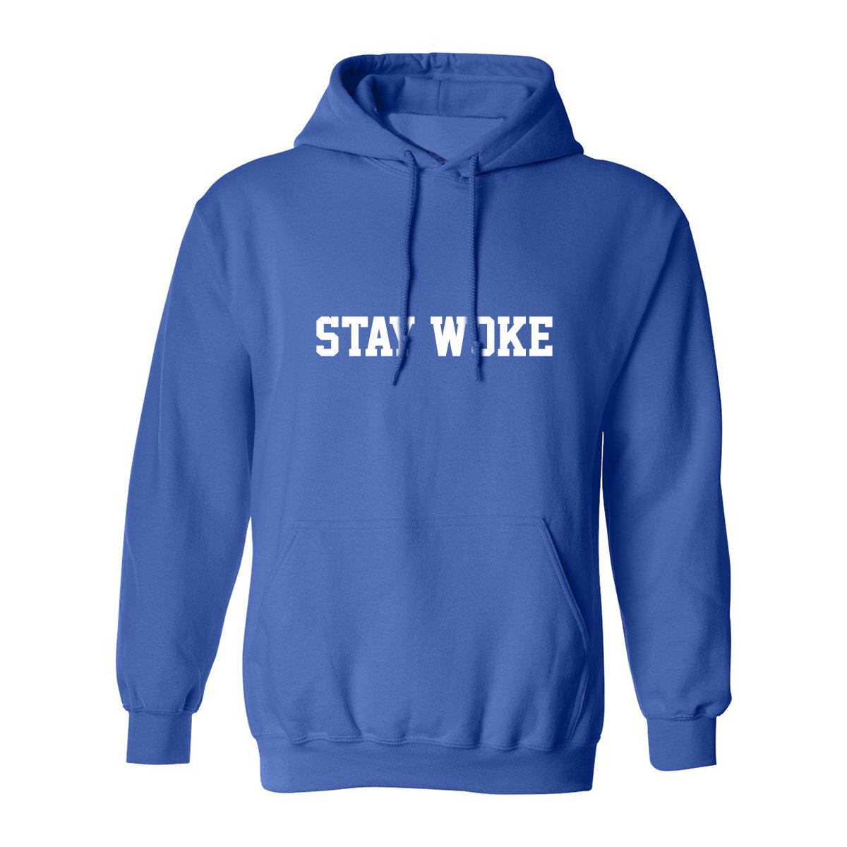 zerogravitee Stay Woke Adult Hooded Sweatshirt