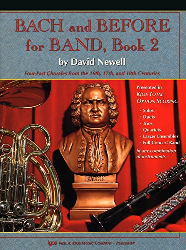 (W77XB - Bach and Before for Band - Book 2 - Tenor Saxophone)