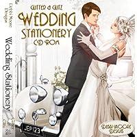 Debbi Moore Designs Glitter & Glitz Wedding Stationery Double CD Rom 293275