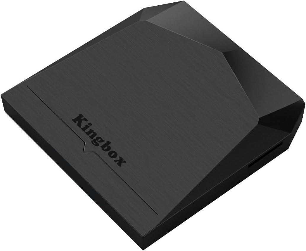 Versión Pura] Kingbox K3 Android TV Box Amlogic S912 Octa-Core cortex-A53 2GB RAM+16GB ROM LAN 1000M Bluetooth 4.0 Dual-WIFI 2.4Ghz/5.0Ghz Smart tv box.: Amazon.es: Electrónica
