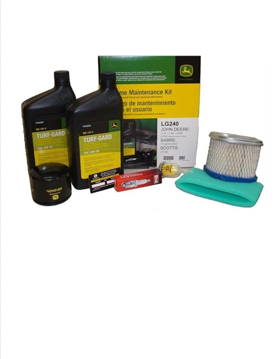 Amazon.com: John Deere Kit de mantenimiento L110, Lt160 ...
