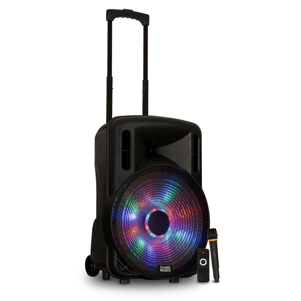 Acoustic Audio by Goldwood Powered Speaker Cabinet, 15-Inch (PRTY151) by Acoustic Audio by Goldwood