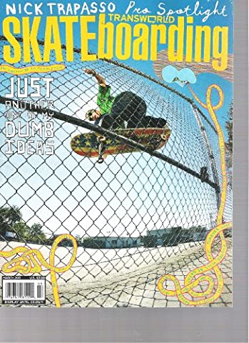 Transworld Skateboarding Magazine (just another one of my dumb ideas, March 2011) (Jake Duncombe Skateboard)